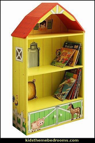 Happy Farm Barn Bookcase kids theme bedrooms maries manor