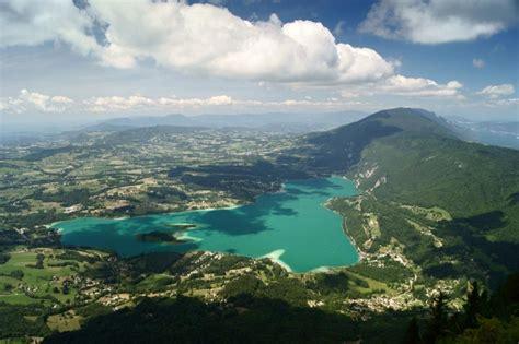 photo lac d aiguebelette vu du mont gr 234 le