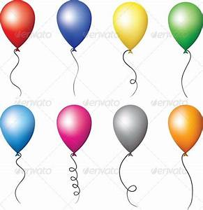 Colourful Balloons for Holiday Decoration GraphicRiver
