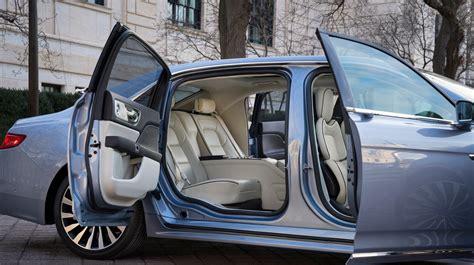 Lincoln Continental Reintroduces Suicide Doors
