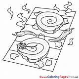 Grill Coloring Colouring Essen Zum Malen Bild Sheet Ausmalbilder Sheets Title Ausdrucken Kostenlos sketch template