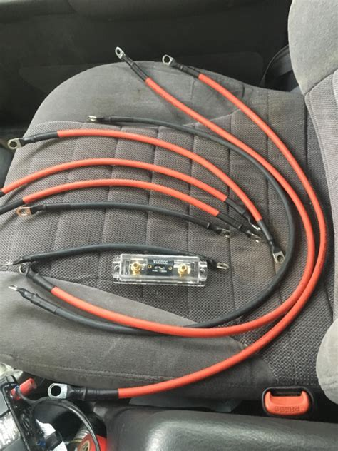 Noratl Upgraded Battery Cables Page Jeep