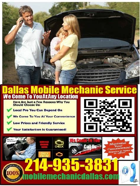 mobile mechanic dallas    auto car repair