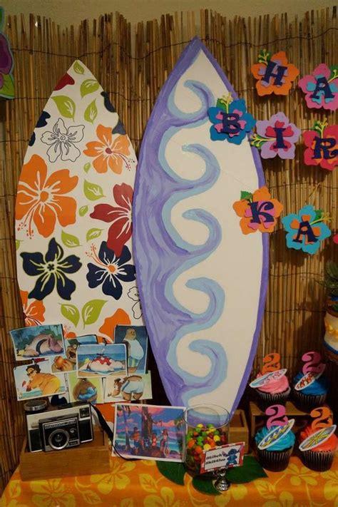 lilo stitch luau birthday party ideas aryas
