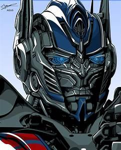 agus wahyu prasetyo - optimus prime face