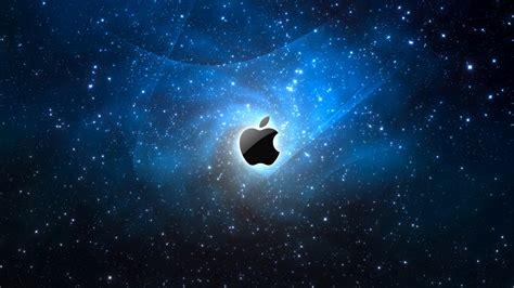 hd hintergrundbilder apple mac sterne raum blau lichter