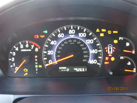 malfunction indicator l honda pilot honda odyssey 2011 engine light and vsa light on autos post
