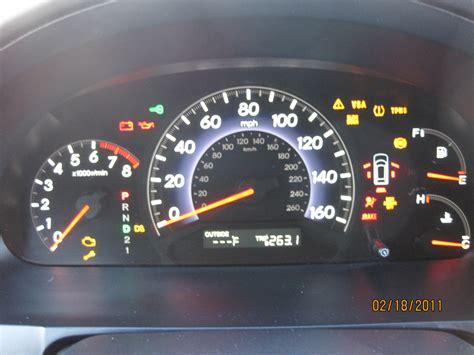 2006 honda accord check engine light honda odyssey 2011 engine light and vsa light on autos post