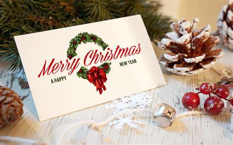 christmas  year card mockup product mockups