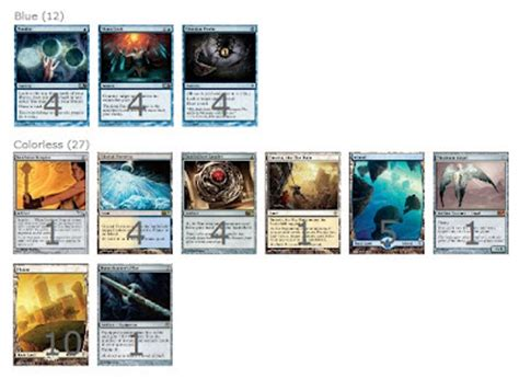 Isochron Scepter Silence Deck by Mtg Deck Legacy Format