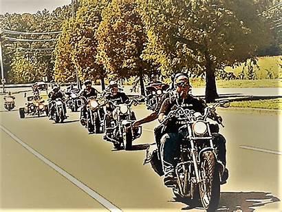Brotherhood Biker Dodging Roadkill Motorcycle Clubs Clarksville
