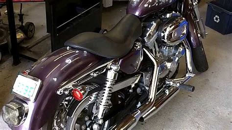 Harley Sportster Exhaust Drill Out Baffle Mod