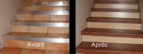 repeindre faience cuisine rénover escalier avec de du noyer rénovation d