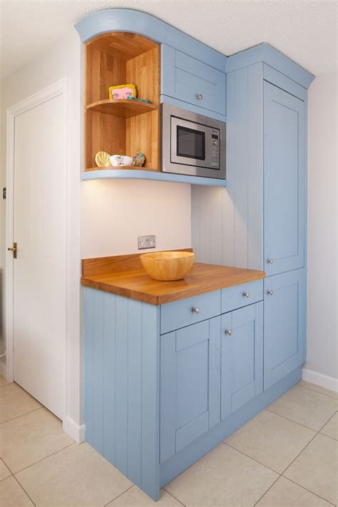 lulworth blue kitchen features  variety  cabinetry