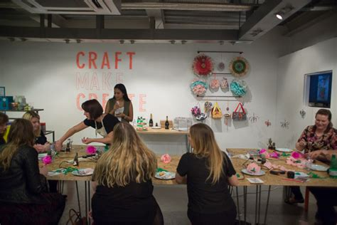 Diy Paper Flowers At Paperchase, London, With 'a Crafty