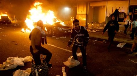 violence looting  canucks lose cup ctv news