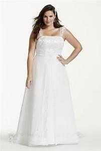 A line plus size wedding dress with cap sleeves style for Plus wedding dress with sleeves