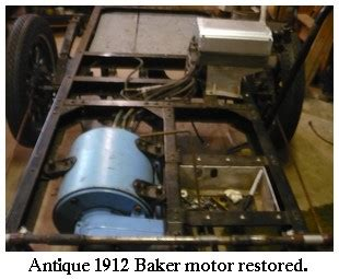 Electric Car Motor For Sale by Baker Electric Car