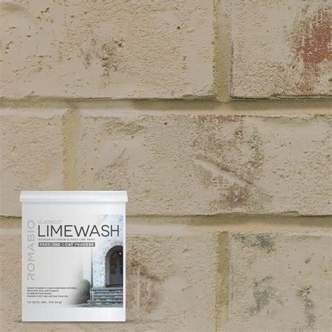 ROMABIO 1 qt. Toscana Beige Limewash Interior/Exterior
