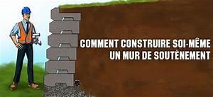 Comment Lessiver Un Mur : comment renforcer un mur de soutenement construction ~ Dailycaller-alerts.com Idées de Décoration