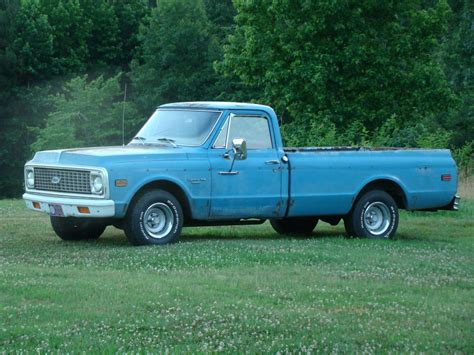 1971 Chevrolet C10 by 1971 Chevrolet C10 K10 Information And Photos Momentcar