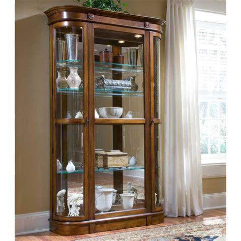 curio cabinets with glass doors curio cabinet glass door cabinet doors
