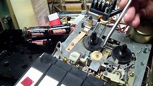 Sears  Sanyo  Tape Recorder Repair Part 1