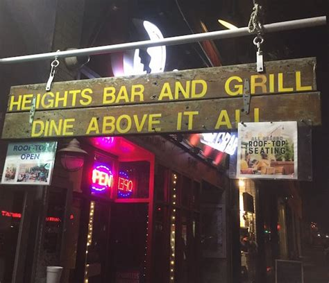heights grill bar upper side west