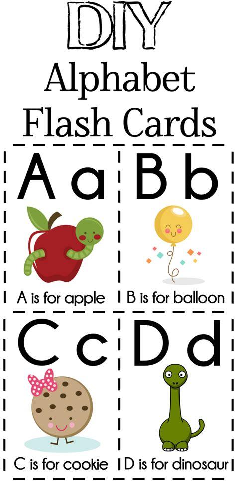 print  awesome  adorable diy alphabet flash cards