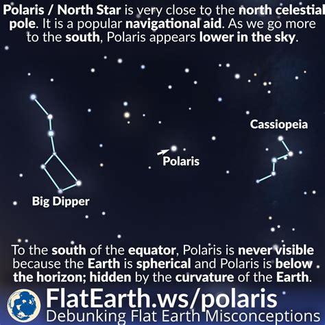 polaris star polaris the north star flatearth ws