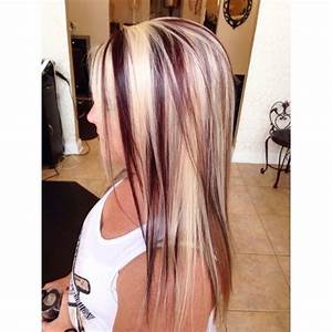 14 Charming Blond Hairstyles With Red Highlights Pretty