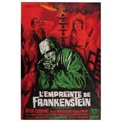 evil of frankenstein original grand format poster