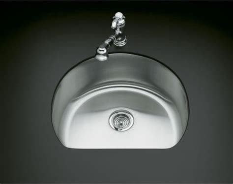 kohler d bowl sink kohler k 3186 na undertone medium d bowl kitchen sink