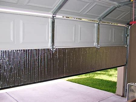 garage door insulation or not garage door insulation toolmonger