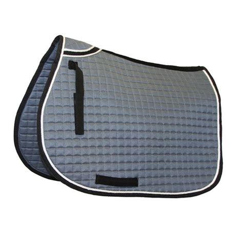 tapis de selle avec renfort au garrot pour cheval dmh equitation pa
