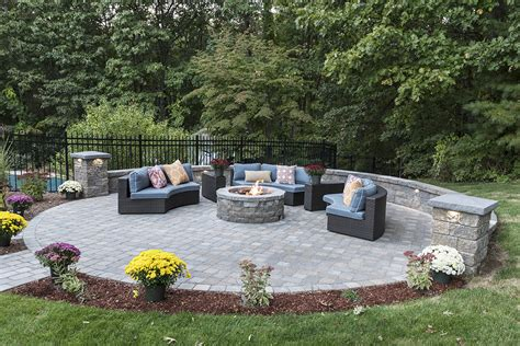 Outdoor Patio Landscaping by Nh Work Patios Nowak Landscape Construction