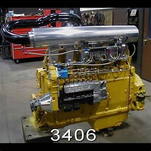 3406 Cat Built By Cyclone Machine