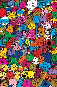 Mr Men & Little Miss Many Miss & Men Character Collage ...