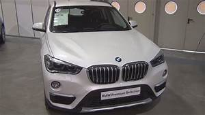 Bmw X1 Xdrive 20d Mineral White  2016  Exterior And Interior