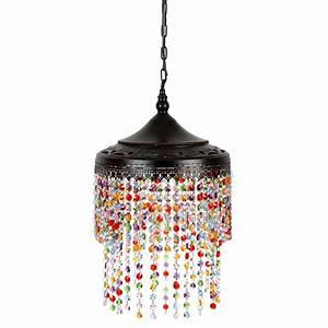 Lustre Baroque Maison Du Monde : lustre en plastique acrylique d 23 cm confetti maisons du monde ~ Melissatoandfro.com Idées de Décoration