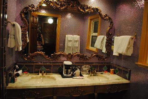 fancy bathroom picture  madonna inn san luis