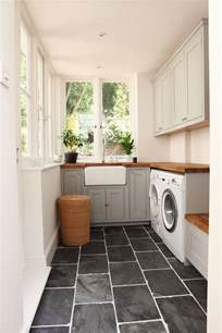 laundry room black slate floors a house like this mudroom laundry tile