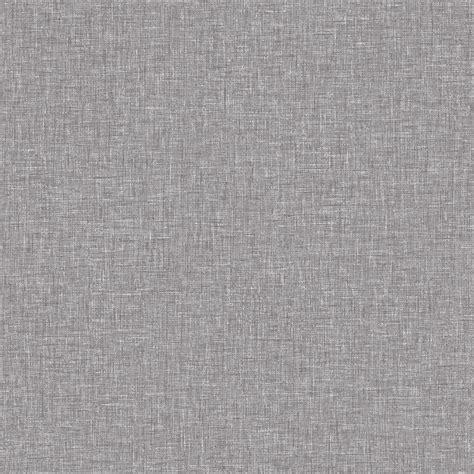 linen texture  arthouse mid grey wallpaper
