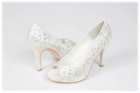 swarovski bridal shoes wedding dress  crystal couture