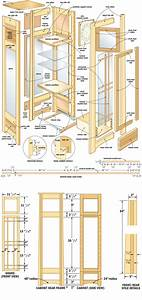 curio cabinet plans shelves Plans to build PDF Download