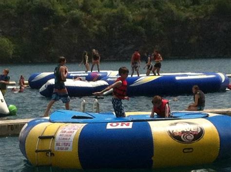 Don T Rock The Boat Fish by Trolines Picture Of Springs Aqua Park