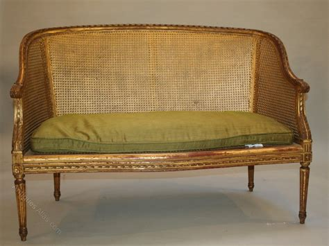 atlas canape gilt sofa canape antiques atlas