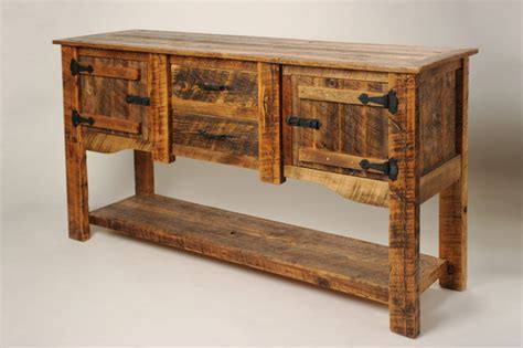 Rustic Sideboards Furniture by Sideboard Hutch Rustic Buffets And Sideboards