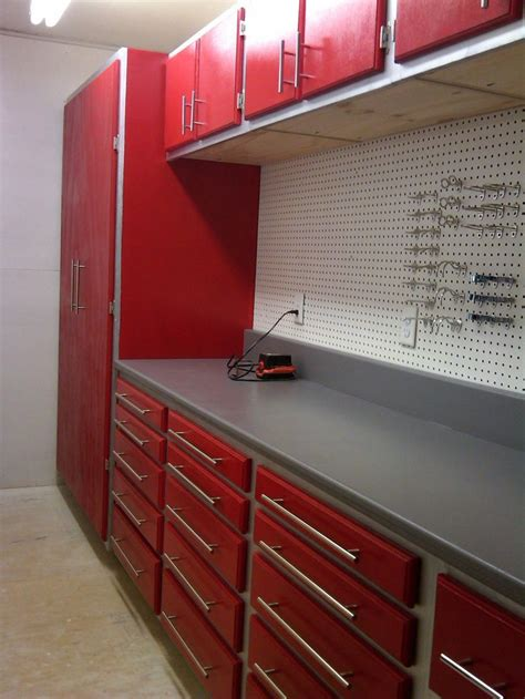 Workshop Storage Cupboards by 5 Best Garage Workbench That Needs To Be Had While