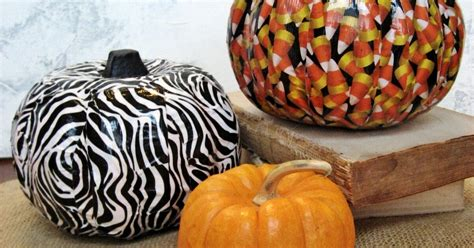 Halloween Funeasy Duct Tape Pumpkins Hometalk